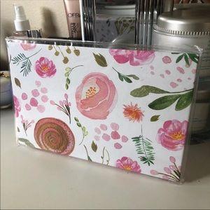 Large Magnetic Palette Watercolor Floral Colorful